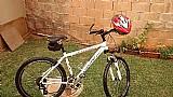 Bike pronta para trilha e pedais urbanos