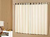 Cortina para quarto /sala palha a criativa - arco-iris 2, 00x2, 30m