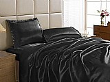 Jogo de cama / lencol king size charmoise - 4 pecas - a criativa