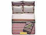 Jogo de cama / lencol king size percal 200 pixel - 4 pecas 200 fios 100% algodao artex