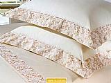Jogo de cama / lencol queen size 4 pecas - 100% algodao - plumasul