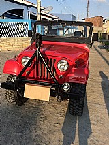 Jipe willys 4x4 vermelho - 1968