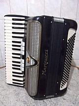 Acordeon italiano 120 baixos impecavel de alta qualidade instrumento profissional