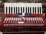 Acordeon eagle 80 baixos impecavel