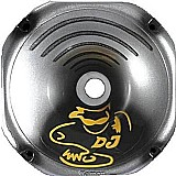 Corneta 1425 longa grafitada dj sound prata fiamon