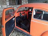 Fusca 1971 1500 motor,  laranja ,  raridade placa preta