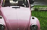 Fusca -1977 fashion na cor rosa