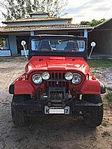 Jeep willys 1961 - gnv - motor opala 4cc