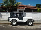 Jeep willys branco 1963