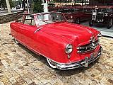 Nash cabriolet vermelho 1952