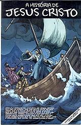 A historia de jesus cristo contada em quadrinhos,   mini revista