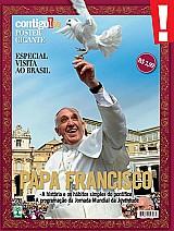 Papa francisco,  bem-vindo ao brasil,  poster da revista contigo