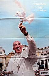 Francisco,  o papa das americas,  poster do jornal extra