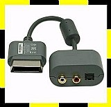 Cabo adaptador de audio optico digital / rca para xbox 360 novo e original