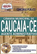 Camara municipal de caucaia - ce  agente administrativo-impressa