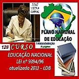 Curso 128 - educação nacional - lei nº 939496 atualizada