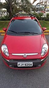 Fiat punto vermelho 2013
