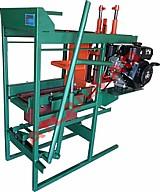 Maquina de bloco manual de movimento semi-automatico hobby 211