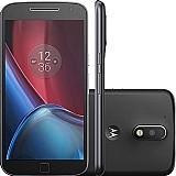 Smartphone moto g 4 plus dual chip android 6.0 tela 5.5 32gb camera 16mp - preto