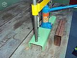 Dobradeira manual hidráulica de chapas