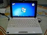 Netbook asus 2 gb de memoria ram,  250 gb no hd,  sistema windows 7 ultimate 32 bits,  carregador original,  bateria 100%. obs: so venda.