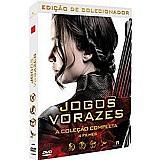 Box dvd - jogos vorazes edicao colecionador (4 filmes)