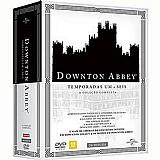 Box dvd - downton abbey a colecao completa legacy - temporadas 1 a 6 (26 discos)