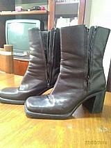 Linda bota da marca aldo,  nº 37,  salto 7cm,  cano 16 cm,  com ziperes na lateral
