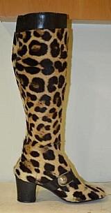Botas de couro de onca autentico