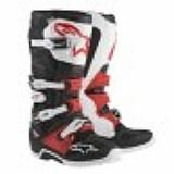 Bota alpinestars new tech 7 preto/vermelho