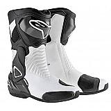 Bota alpinestars new smx-6 (novas cores) preto / branco