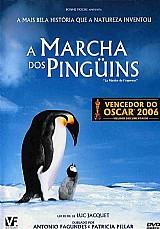 Dvd a marcha dos pinguins - original - novo - frete 8, 00