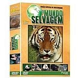 Box dvd o mundo selvagem 10 dvds ed de colecionador lacrado