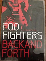 Dvd documentario foo fighters back and forth