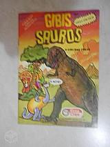 Gibi dos anos 90 da elma chips! raridade! 5 divertidos quadrinhos para animar a garotada! - 〠sombra de um vulcã£o; - a namorada do rufflessauro - perdida na floresta - o torcicolo - esconde-escond