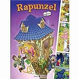 Livro- rapunzel em quadrinhos