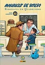 Mauricio de souza : biografia em quadrinhos - capa dura