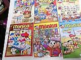 Lote com 25 quadrinhos turma da mônica cascao