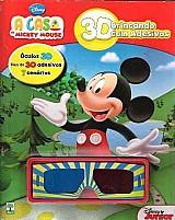 Livro disney a casa do mickey mouse - 3d