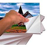 Papel fotografico adesivo glossy 135g a4 - 100 folhas