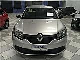 Renault logan renault logan authentique 1.0 2015 prata - dml veiculos