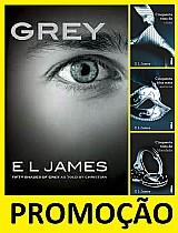 Kit box trilogia cinquenta tons de cinza   grey (4 livros)