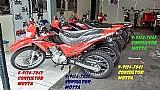 Motos cross 150 cilindrada ano 2015 vermelha