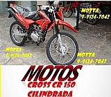 Moto cross cr vermelha 150 sousa motos em sp