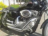 Harley-davidson xl 883 custom com acessorios - 2007