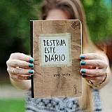 Livro destrua esse diario livro novo e lacrado de keri smith