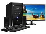 Computador pc mix l3300 intel dual core - 4gb 500gb led 18, 5