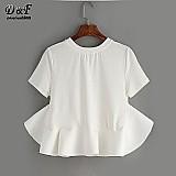 Blusa feminina branca cod. 196