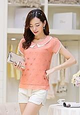 Camisa feminina rose cod. 368
