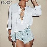 Blusa feminina branca cod. 371